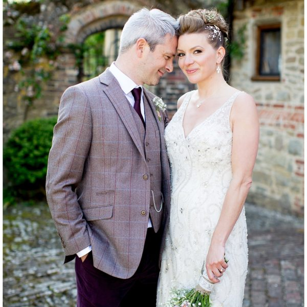 Saskia & Carl's Stunning Day at Grittenham Barn, West Sussex